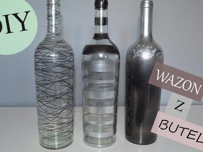 DIY wazony z butelek