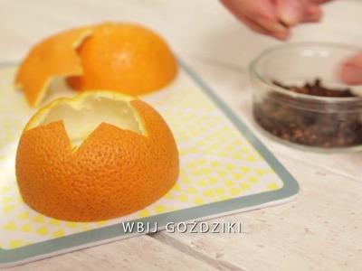 Jak zrobić lampion z pomarańczy
