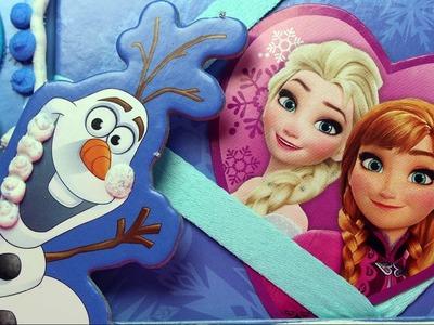 Ramka na zdjęcia - Frozen Disney - Doh Vinci - Zrób to sam. DIY