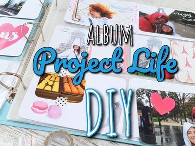 Album Project Life - tworzenie wpisu DIY