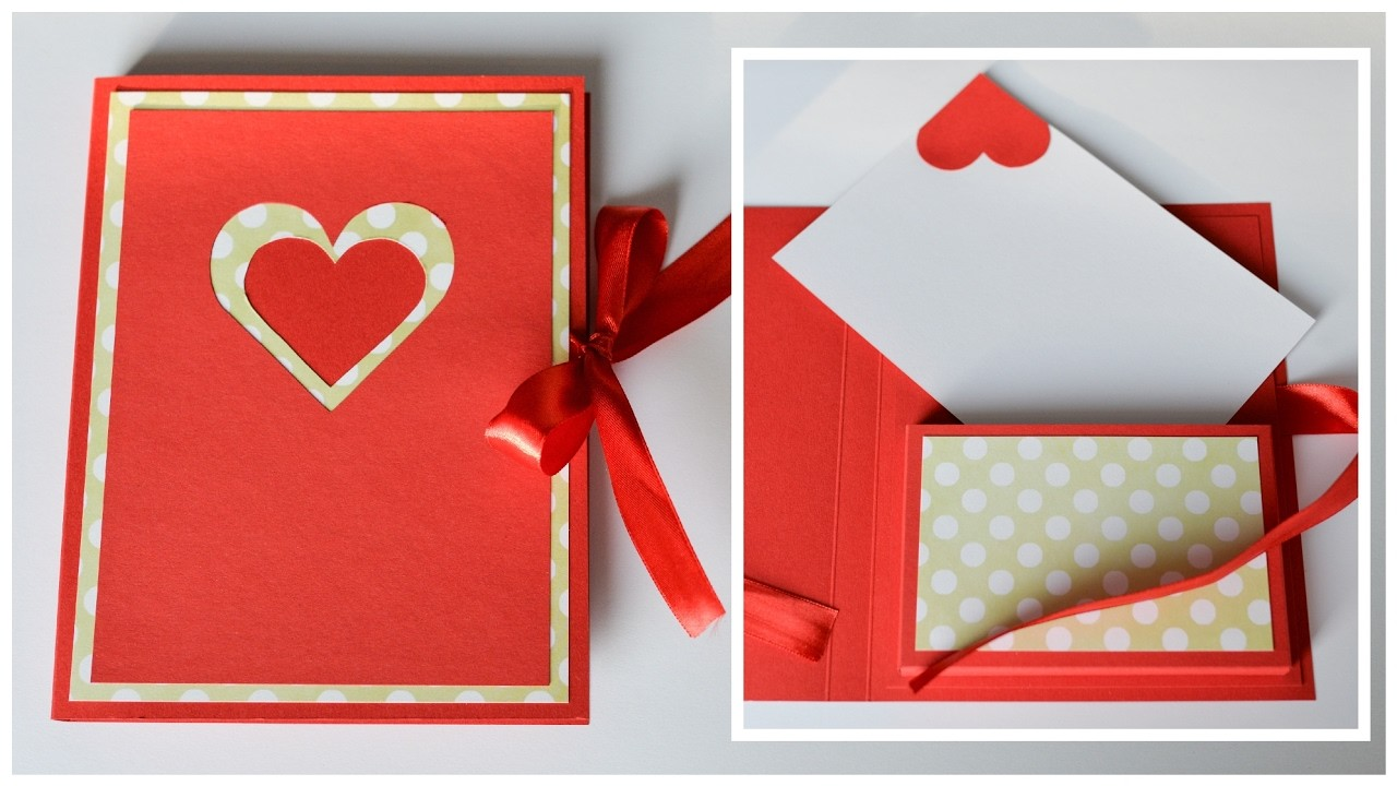How to make greeting card box valentines day step by step diy how to make greeting card box valentines day step by step diy kartka walentynkowa kristyandbryce Gallery