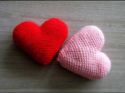 No 130# Serce 3d na szydełku - Simply heart 3d crochet