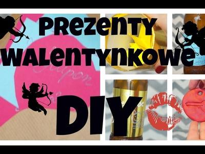 Proste pomysły na prezent walentynkowy - DIY:)
