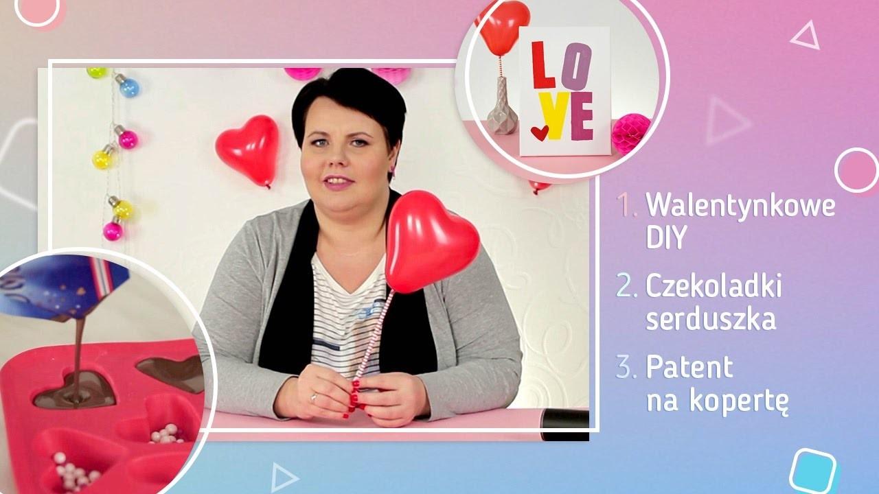 Walentynkowe DIY, czekoladki serduszka i patent na kopertę! | Twoje DIY #4