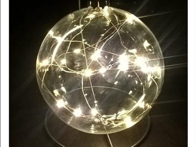 BOMBKA BŁYSKAWICA błyskawiczna ;) Bombka zamiast świecy !!!#Christmasdecorations