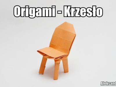Origami - Krzesło