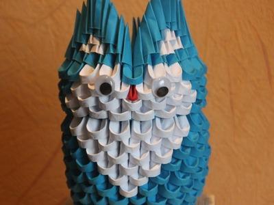 #31 Sowa - Origami modułowe
