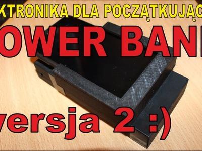 DIY PowerBANK - Mój power bank - ELEKTRONIKA DLA POCZĄTKUJĄCYCH