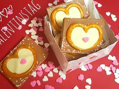 DIY Walentynki.Walentynkowa czekolada. Valentinstag Schokolade