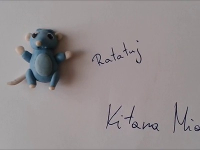 Polymer clay tutorial: Ratatouille.Ratatuj