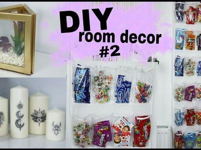 DIY room decor #2 | ozdabianie pokoju
