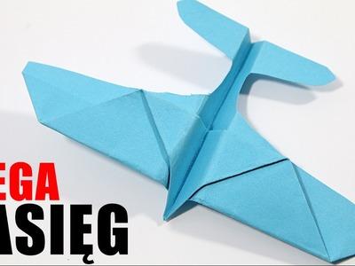Jak zobić najlepszy samolot z papieru - How to make the best paper airplane | DIY