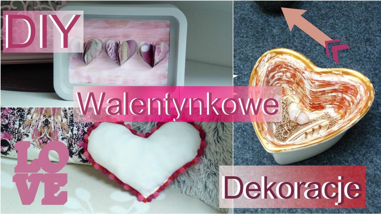 DIY Walentynkowe Dekoracje ♥| DIY Room Decor for Valentine's Day! ♥