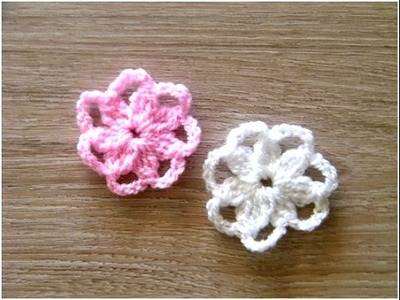 No 136# Kwiatek na szydełku - Flower crochet