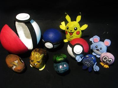 Jak wykonać własne pokeballe dla pokemonów - Pomysły plastyczne dla każdego