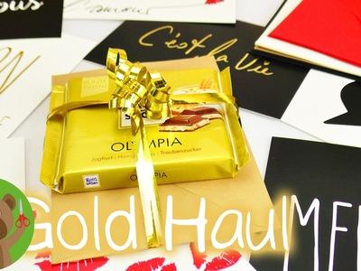 DIY Inspiration Challenge #93 | GOLD HAUL | pomysł na niedzielę