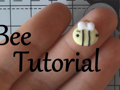 Small Bee Polymer Clay Tutorial
