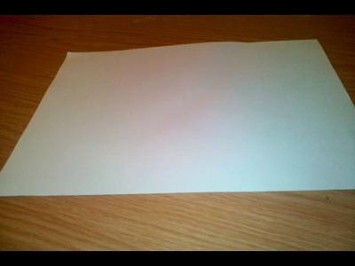 Jak zrobić okulary origami dla początkujących