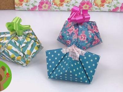 Opakowanie na prezent | proste origami
