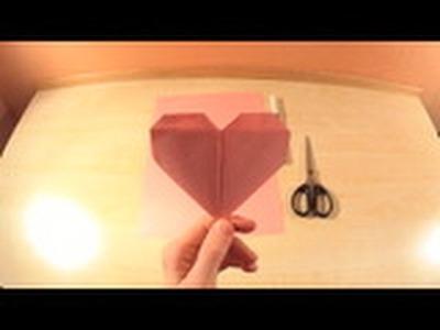 Serduszko origami | na walentynki