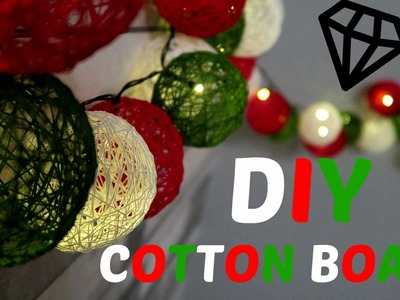 ♥DIY COTTON BOALS♥