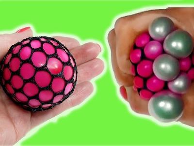 DIY Piłeczka Antystresowa Squishy Mesh Stress Ball