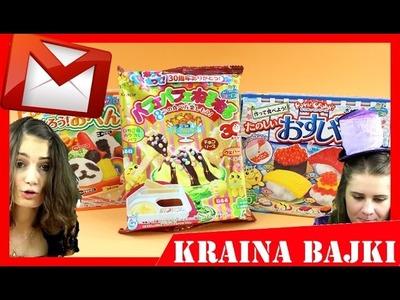 KRACIE POPIN COOKIN! UNBOXING - Japońskie Słodycze DIY - POCZTA OD WIDZÓW #1