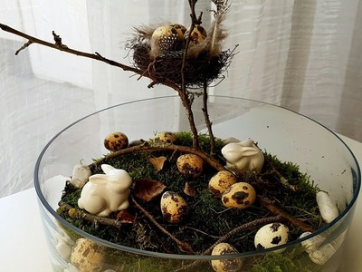 DIY Wielkanocna dekoracja. Ostern Deko