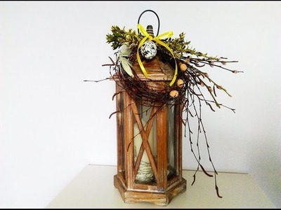 DIY Wiosenne dekoracje ,WIELKANOC