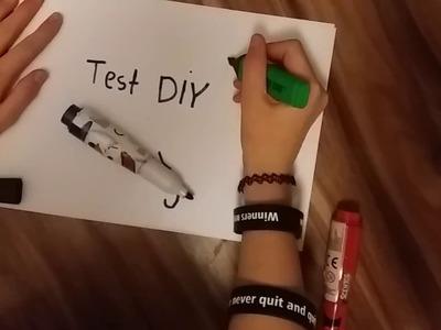 Test DIY - kolorowe zakreślacze