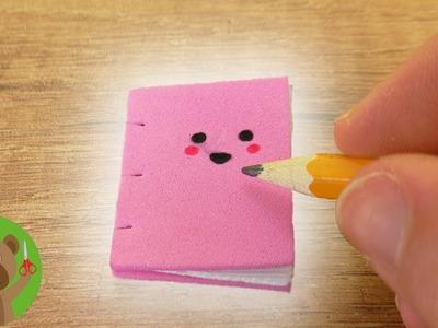 Mini zeszyt Kawaii | uroczy DIY zeszycik do notatek