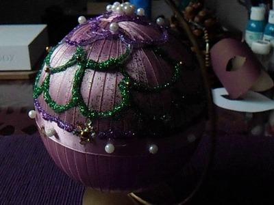 Bombka świąteczna DIY
