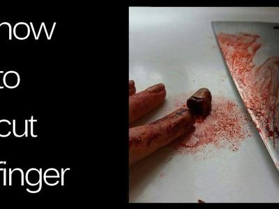 ????????Halloweenowy tutorial - ucięty palec - proste DIY ????????
