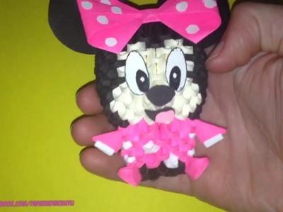 Myszka Minnie. Origami 3D
