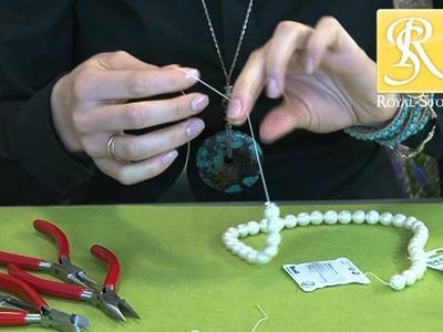 ROYAL-STONE kurs biżuterii warszawa jak zrobić naszyjnik z pereł