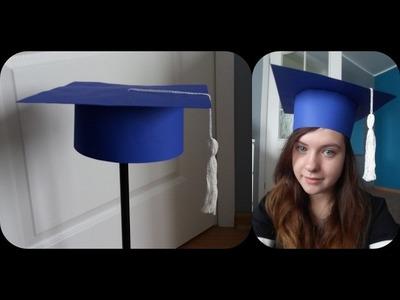 Biret studenta - ucznia | Jak zrobić ?. czapka. nakrycie głowy - DIY #1