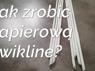 DIY - Jak zrobić papierową wiklinę?