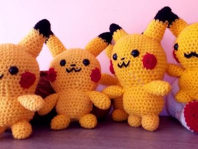 Pikachu -Amigurumi  DIY :)