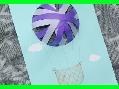 Jak zrobić Trójwymiarowy Balon z Papieru. How to make a 3D Paper Balloon