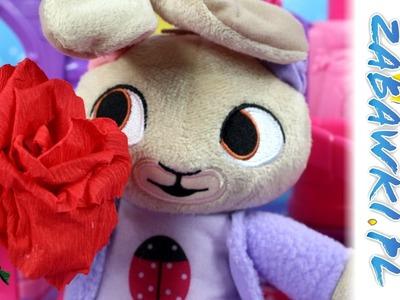 DIY - Róża z Bibuły - Koko i Bing - Bajki i kreatywne zabawy dla dzieci