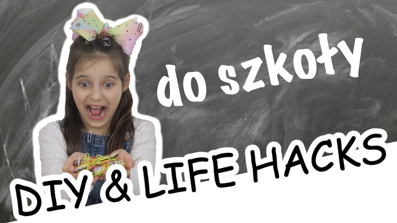 ♥ DIY I LIFE HACKS DO SZKOŁY || Pusheen Girl