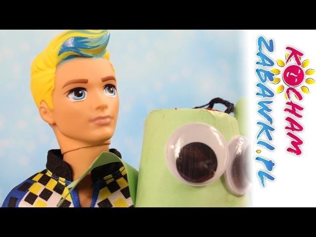 DIY - Żaba z Papieru - Barbie w Świecie Gier - Bajki i Kreatywne Zabawy dla dzieci