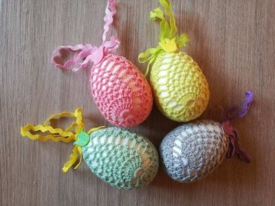 No 155# Pisanka na szydełku nr 2 - 3d - Easter egg crochet nr 2 - 3d