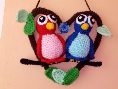 Papużki Nierozłaczki- Amigurumi Crochet DIY. Ślązaczka Halinka