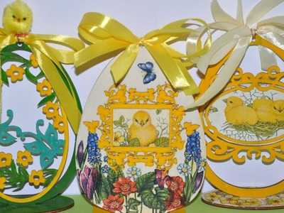 Pisanka decoupage krok po kroku # Easter egg craft DIY