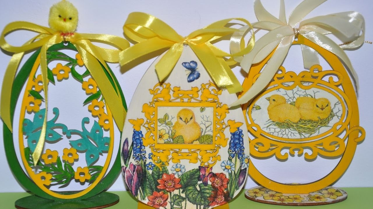 Pisanka decoupage krok po kroku # Easter egg craft DIY