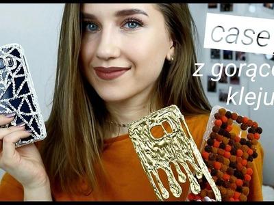 CASE'Y Z GORĄCEGO KLEJU?! | DIY