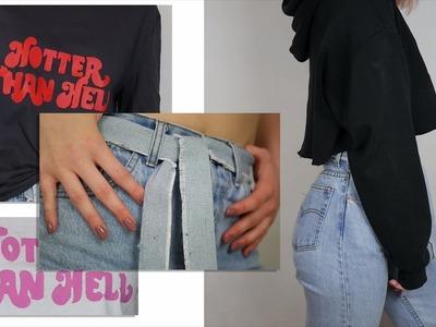 DIY: Przerabianie ubrań z LUMPEKSU | Osipowiczka
