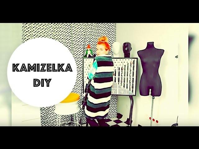 DIY: Kamizelka futrzak  Zrób to Sama