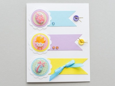 How to Make - Easter Card Spring - Step by Step DIY | Kartka Wielkanocna